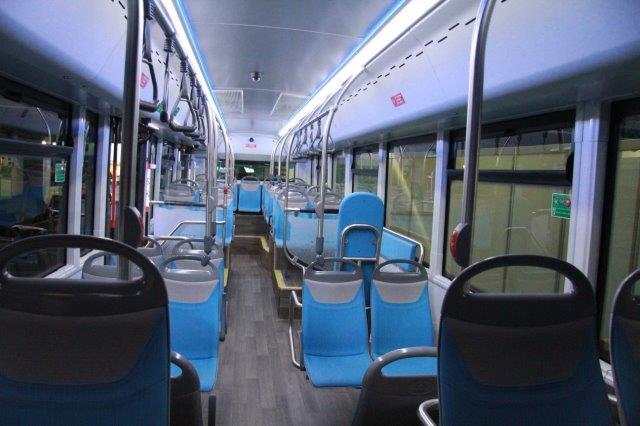 Interieur elektrische bus
